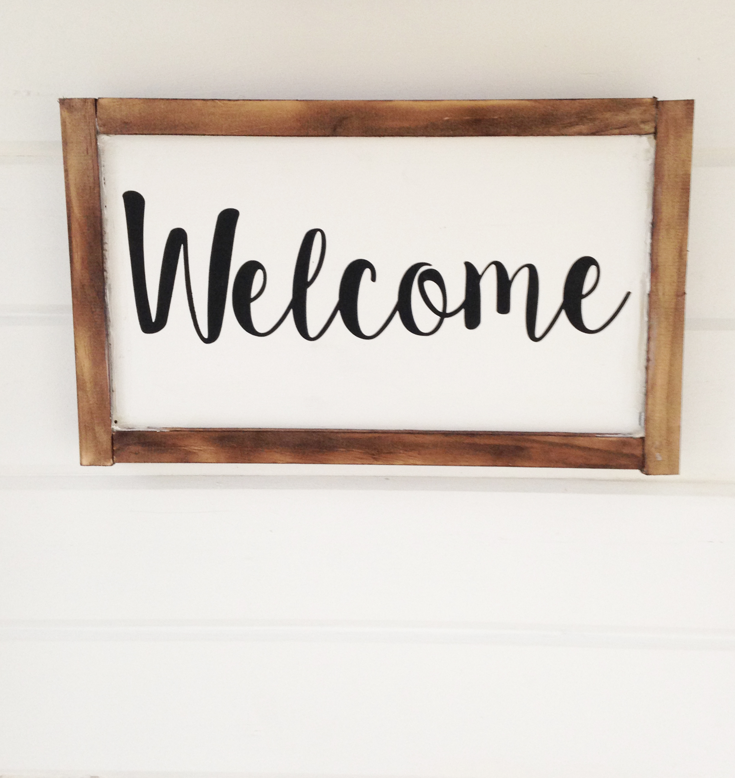 WELCOME | Honeycomb Signs