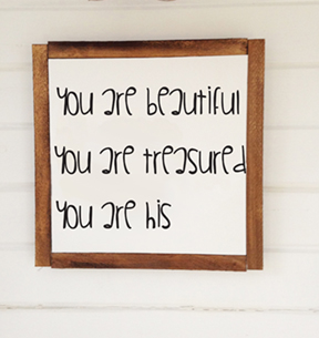 you are beautiful you are